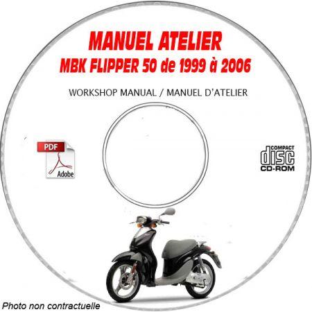 FLIPPER de 99-06 Manuel Atelier CDROM MBK