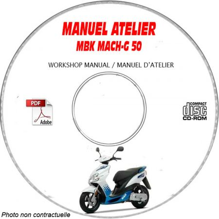 MACH G 50 -02 Manuel Atelier CDROM MBK