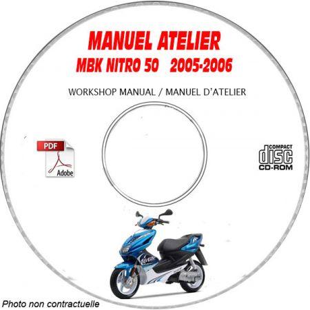 NITRO 50 05-06 Manuel Atelier CDROM MBK