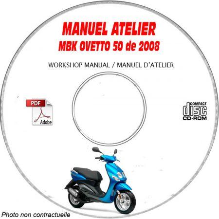 OVETTO 2008 Manuel Atelier CDROM MBK