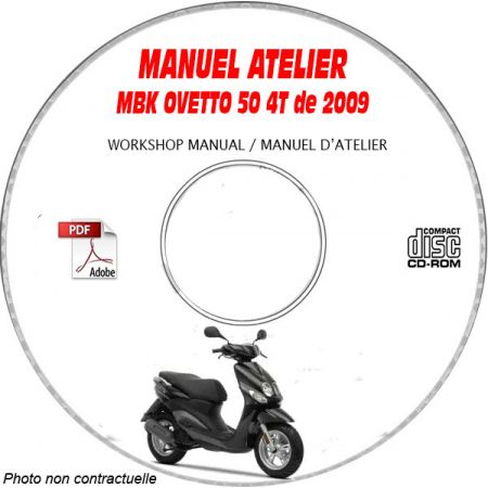 OVETTO 4 temps 2009 Manuel Atelier CDROM MBK
