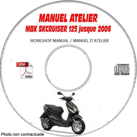 SKY CRUISER 125 2006 Manuel Atelier CDROM MBK