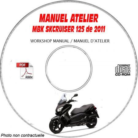 SKY CRUISER 125 2010 Manuel Atelier CDROM MBK