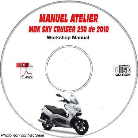 SKY CRUISER 250 2010 Manuel Atelier CDROM MBK