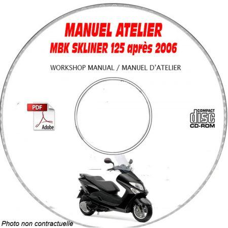SKYLINER 150 01-06 Manuel Atelier CDROM MBK