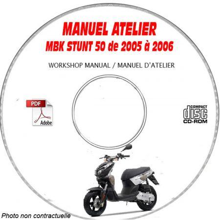 STUNT NAKED 05-06 Manuel Atelier CDROM MBK