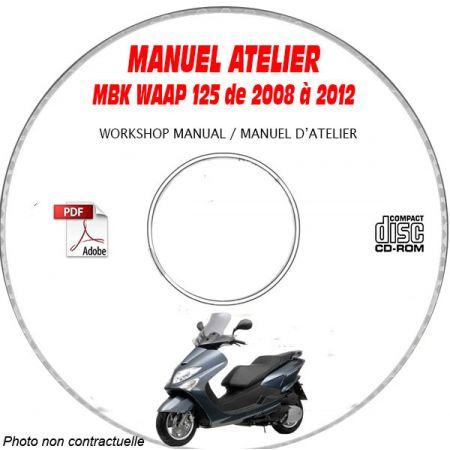 WAAP 125 2008 Manuel Atelier CDROM MBK