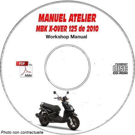 X-OVER 125 2010 Manuel Atelier CDROM MBK