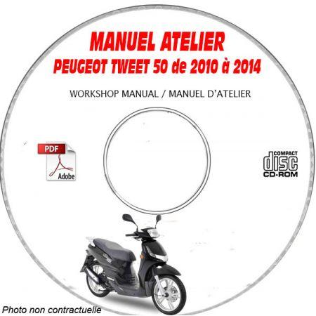 TWEET 50 10-14 - Manuel Atelier CDROM PEUGEOT