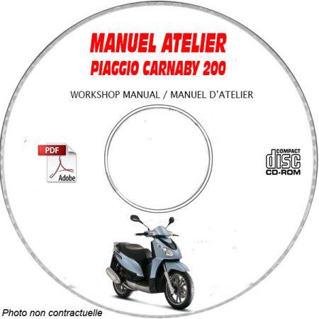 MANUEL D'ATELIER CARNABY 200