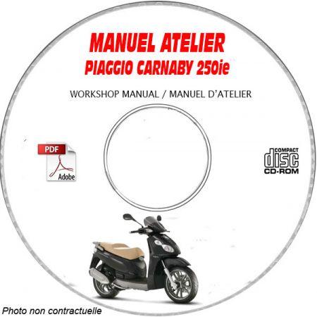 CARNABY 250ie -07 Manuel Utilisateur CDROM PIAGGIO FR