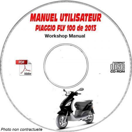 FLY 100 2013 Manuel Utilisateur PIAGGIO CDROM FR