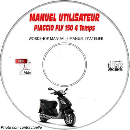 FLY 150 4 temps -07 Manuel Utilisateur CDROM PIAGGIO FR