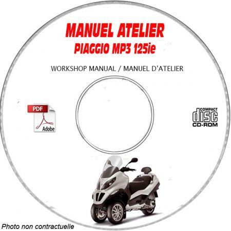 MANUEL D'ATELIER MP3 125ie