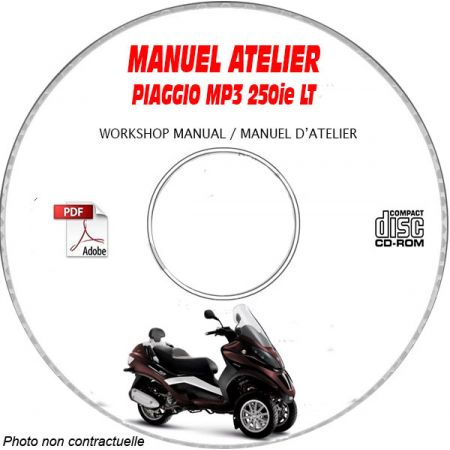 MANUEL D'ATELIER MP3 LT 250ie
