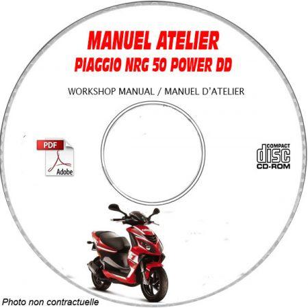 NRG POWER DD -07 Manuel Atelier CDROM PIAGGIO FR