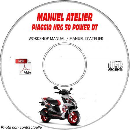 NRG POWER DT -07 Manuel Atelier CDROM PIAGGIO FR