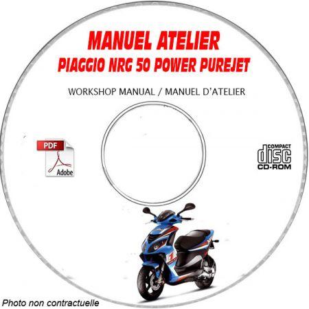 NRG POWER PUREJET -07 Manuel Atelier CDROM PIAGGIO FR