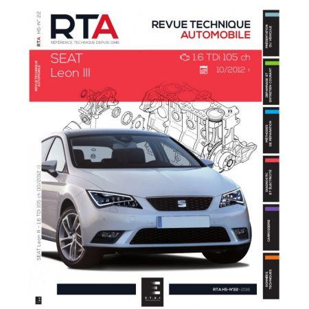 LEON III 1.6 TDI 12- Revue Technique SEAT