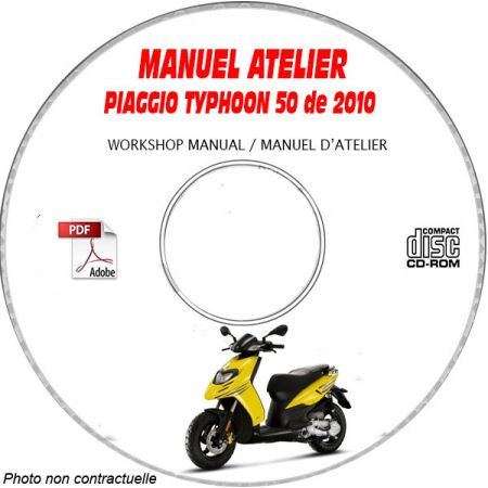 MANUEL D'ATELIER TYPHOON 50 2010