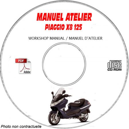 X8 125 -07 Manuel Utilisateur PIAGGIO CDROM FR