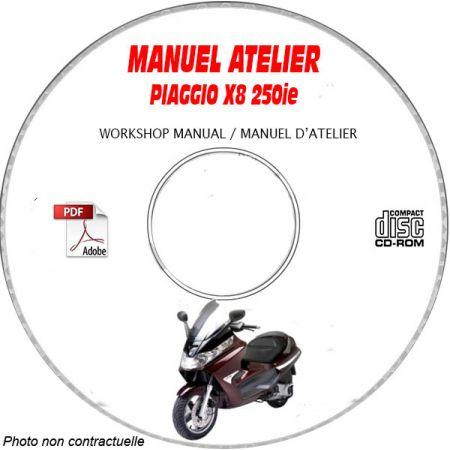 MANUEL D'ATELIER X8 250 ie