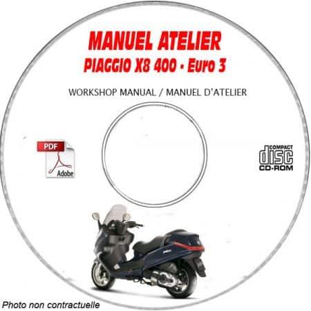 X8 400ie -07 Manuel Utilisateur PIAGGIO CDROM FR