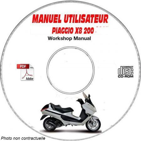 X8 200 -07 Manuel Utilisateur PIAGGIO CDROM FR