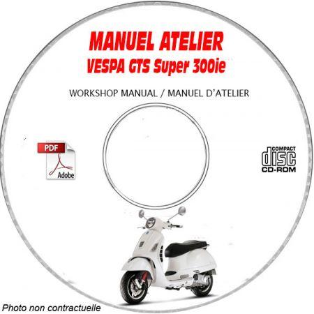 MANUEL D'ATELIER GTS Super 300 i.e.
