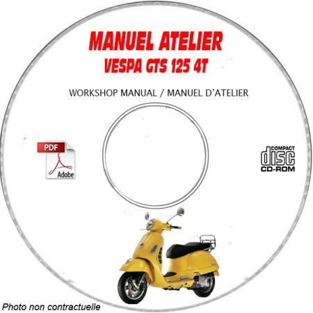 MANUEL D'ATELIER GTS 12 5 4 Temps