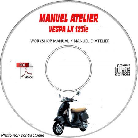 MANUEL D'ATELIER LX 125 ie