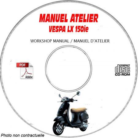 MANUEL D'ATELIER LX 150 ie