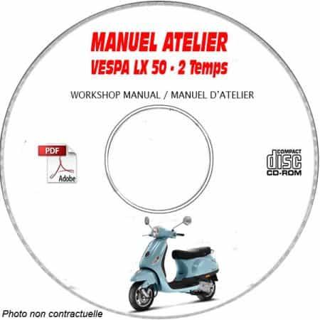 MANUEL D'ATELIER LX 50 2 Temps