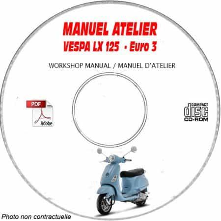 MANUEL D'ATELIER LX 12 5 Euro 3