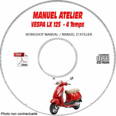 MANUEL D'ATELIER LX 125 4T Carburateur