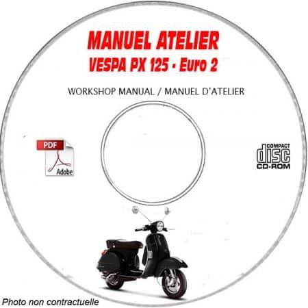 MANUEL D'ATELIER PX 125 Euro 2