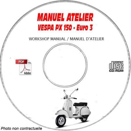 MANUEL D'ATELIER PX 150 Euro 3