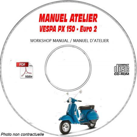 MANUEL D'ATELIER PX 150 Euro 2