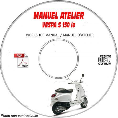 MANUEL D'ATELIER S 150 ie