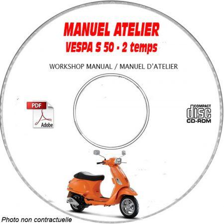 MANUEL D'ATELIER S 50 2 Temps