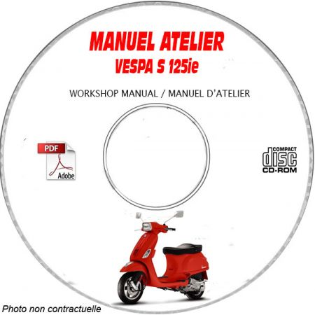 MANUEL D'ATELIER S 125 ie