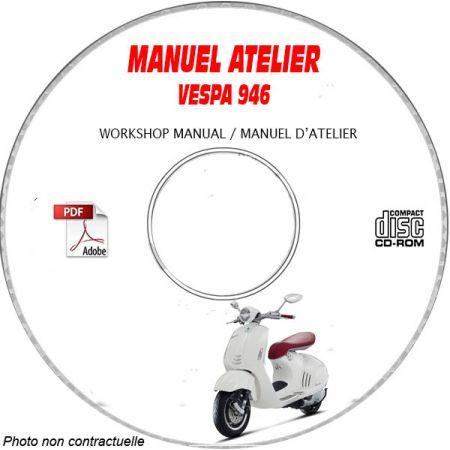 946 2013 Manuel Atelier VESPA CDROM