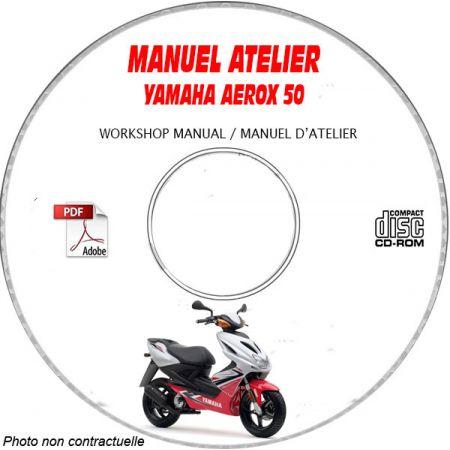 MANUEL D'ATELIER AEROX 50 1997