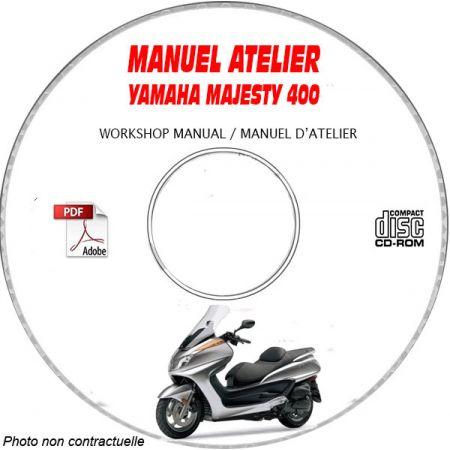 MANUEL D'ATELIER MAJESTY 400