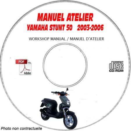 STUNT 03-06 Manuel Atelier CDROM YAMAHA