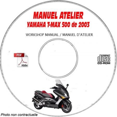 MANUEL D'ATELIER T-MAX 500 2003