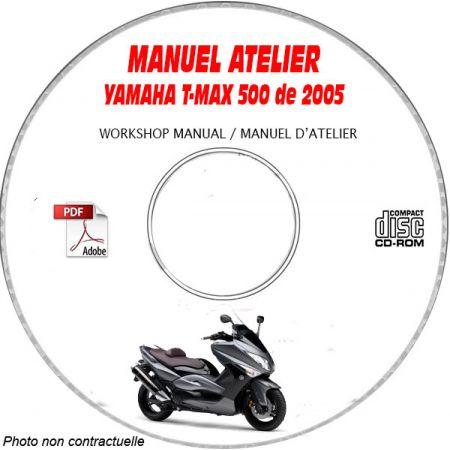 MANUEL D'ATELIER T-MAX 500 2005