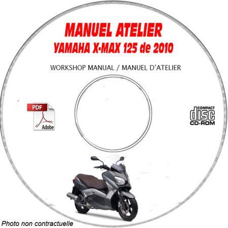 X-MAX 125 2010 Manuel Atelier CDROM YAMAHA