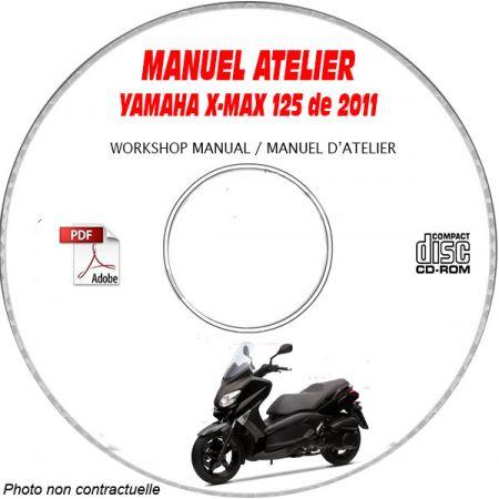 X-MAX 125 2011 Manuel Atelier CDROM YAMAHA