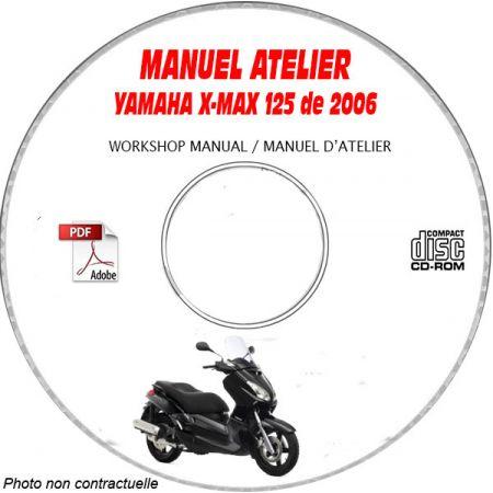 X-MAX 125 2006 Manuel Atelier CDROM YAMAHA